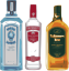 Bebidas alcoh�licas, destiladas, all (ginebra, rob, vodka, whisky) 40�