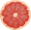 Grapefruit, raw, pink and red, all areas