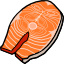 Fish, salmon, Atlantic, farmed, raw